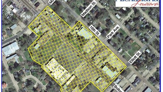 The area shaded in yellow in the Bolton Avenue area had been under a water boil advisory, but that has now been lifted.