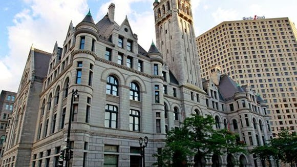 The federal courthouse at 517 E. Wisconsin Ave. in Milwaukee.