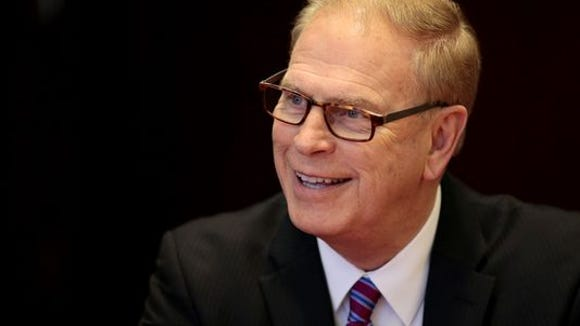 Democratic former Gov. Ted Strickland accused the Teamsters and his opponent Rob Portman of quid pro quo.