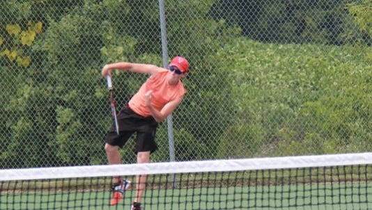 Pinckney's Wilson Wagner is the second seed in the one-single flight in Division 2 and has a shot at making the state finals even if his team does not.