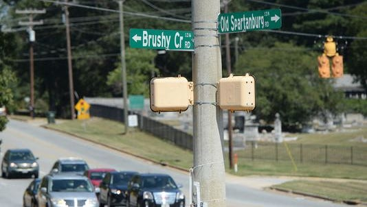 The Brushy Creek Road corridor between Eastside and Riverside high schools, where dozens of new housing developments have been approved by Greenville County and Greer city officials since the economic rebound of 2012, has been cited as a traffic concern for local residents.