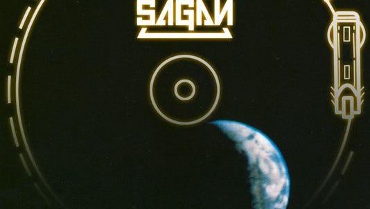 Tonio Sagan album art for Voyager Records Greetings