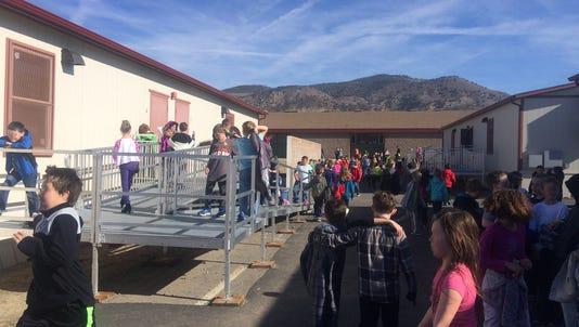 Brown Elementary School has 10 portable classrooms.
