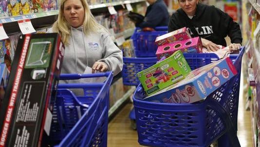 The National Retail Federation predicts retail sales will increase 3.6% this holiday season