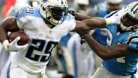 Former Eagles running back DeMarco Murray has 340 yards rushing for the Tennessee Titans so far this season.
