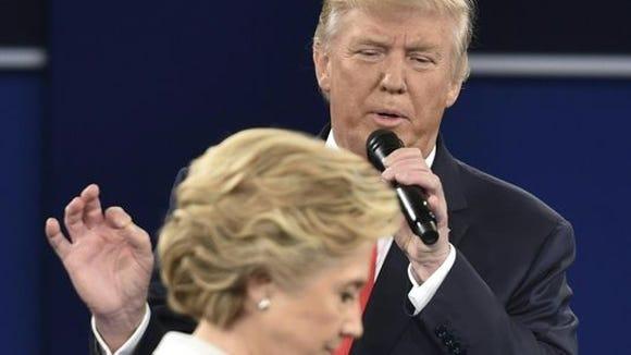 Donald Trump, in Sunday's presidential debate.