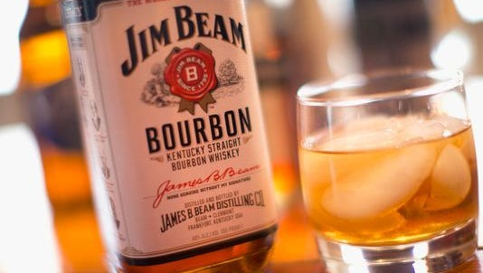 Jim Beam bourbon is out of production at two plants because the company's workers have gone on strike.