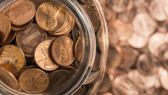 Find a lucky penny and win $1,000.