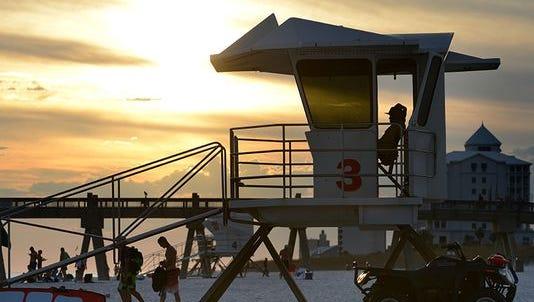The Navarre Beach lifeguard season will end Oct. 30, 2016.