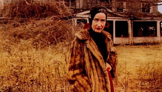 """A scene from the documentary """"Grey Gardens,"""" which has been transformed into a musical."""