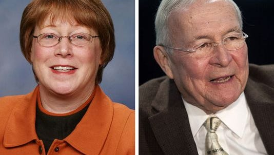 Former state Rep. and Farmington Hills Mayor Vicki Barnett fell 7 percentage points shy of dethroning longtime Oakland County Executive L. Brooks Patterson Tuesday.