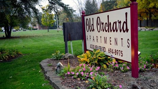 A six-year-old girl was found dead by firefighters after an apartment fire in the Old Orchard Apartments late Tuesday, Nov. 1, 2016 in Holt. Authorities have a person in custody and are investigating it as an arson and homicide incident.