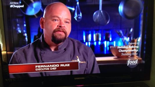 "Food Network's ""Chopped"" contestant Fernando Ruiz."