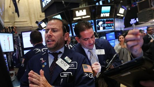 The stock market surged Monday ahead of the U.S. presidential election