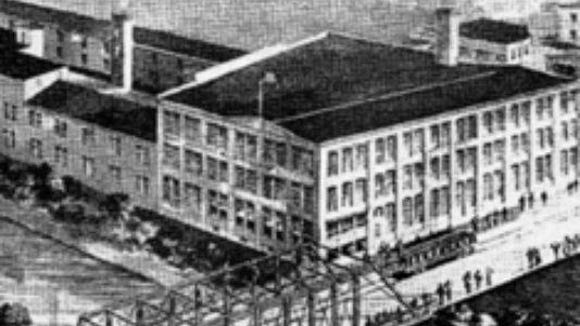 The old Penn Dairies or Pensupreme building on North George Street, before its facade was demolished. The remaining part of the building will become the home of the York Academy Regional Charter School's high school.