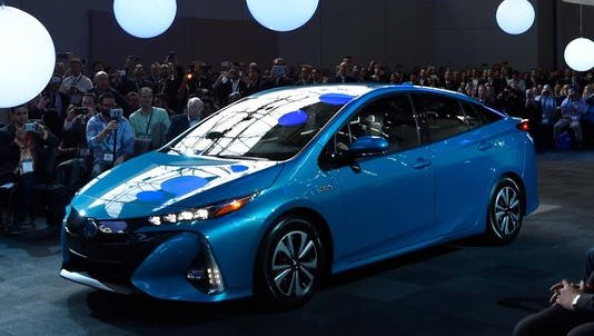 The Toyota Prius Prime is one of five candidates for Green Car of the Year.