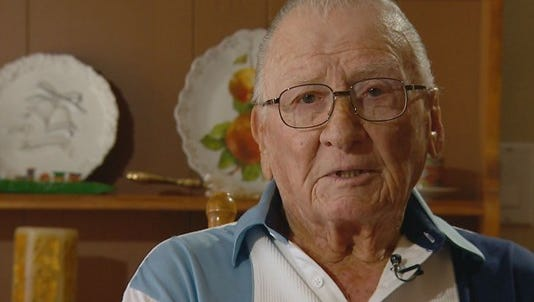 Donald Stratton survived the bombing of Pearl Harbor.