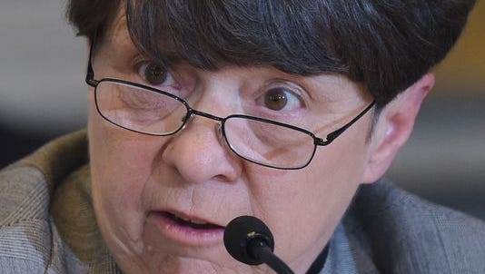 Mary Jo White will step down as chair of the Securities & Exchange Commission chair in January.
