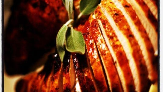 Turkey Breast with Sweet Pan Gravy