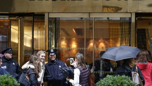 At the Trump Tower on Nov. 15, 2016.