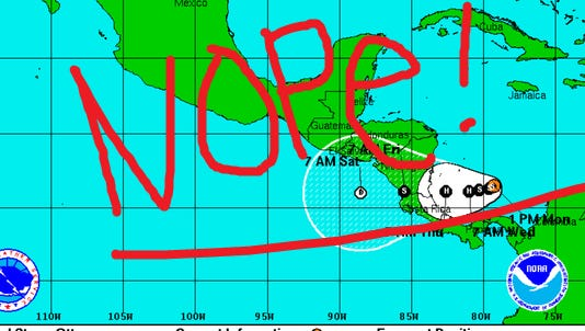 Tropical Storm Otto is churning in the Caribbean. That's whole lotta nope. Sorry buddy, you're not invited to Thanksgiving.