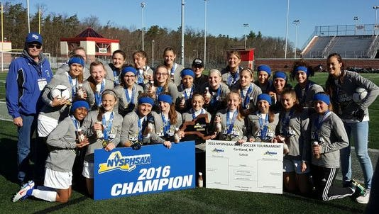 The Wheatland-Chili girls soccer team, which won the Class D state title, had two players (sisters Hannah and Abbey Callaghan) earn first-team All-State honors and Wildcats coach Gary Ward was named the Coach of the Year.