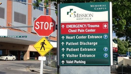 """Mission Health CEO Dr. Ron Paulus said it's unlikely that patients will be billed by physicians working at the hospital as """"out-of-network,"""" but it can happen."""