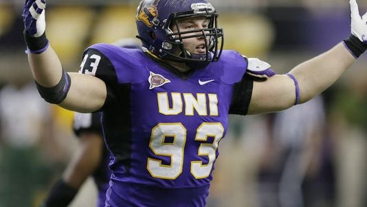 Northern Iowa defensive end Karter Schult was named the Missouri Valley Conference defensive player of the year, the league announced Wednesday morning.