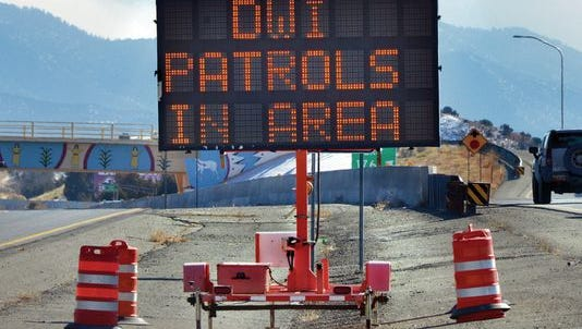 Patrols to catch impaired drivers are common in New Mexico.
