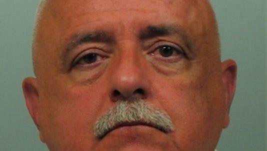 Hugh Fox Jr.'s mug shot from his 2014 DWI arrest in White Plains