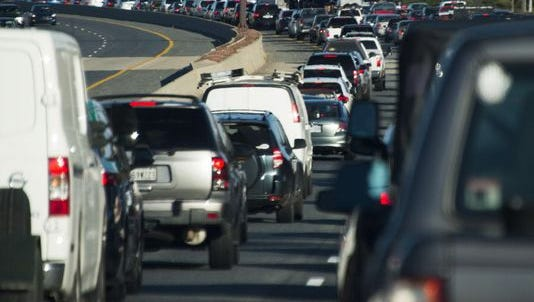 Americans spend too much time stuck in traffic.