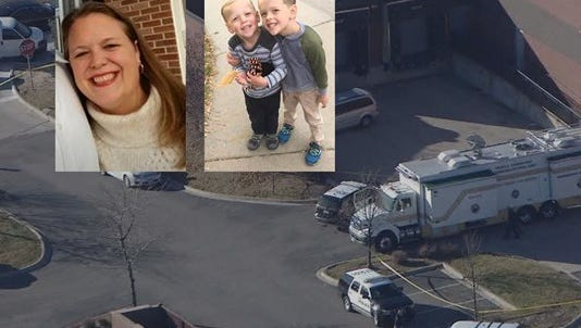 What began as a case involving a missing mother and her two young sons had a tragic ending Wednesday morning.