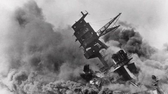Pearl Harbor, Dec. 7, 1941