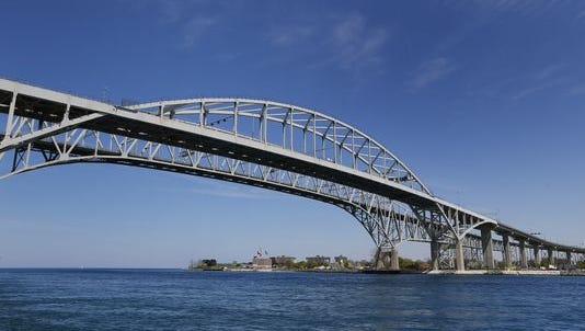 Workers on the Canadian side of the Blue Water Bridge went on strike in late November.