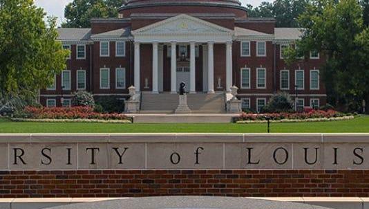 Provided photo of University of Louisville.