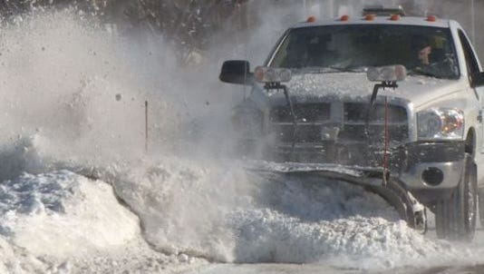 The snow emergency in Howell starts at 9 p.m. tonight and is expected to end at 4 p.m. Monday. Pinckney and Fowlerville also have declared a snow emergency.