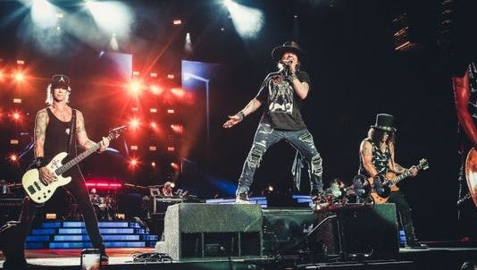 Guns N's Roses brings its Not in This Lifetime tour to the borderland. The concert is set for 7:30 p.m. Sept. 6 at the Sun Bowl Stadium, in El Paso. Tickets range in price from $32 to $247 plus fees and are available through Ticketmaster outlets, www.ticketmaster.com and 800-745-3000.