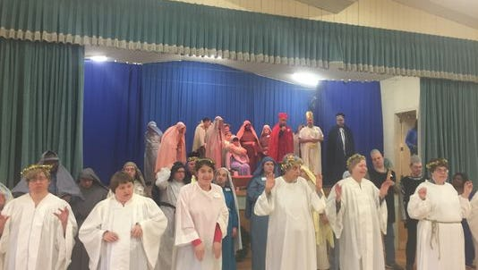 The Holy Angels Christmas pageant will be Dec. 15.