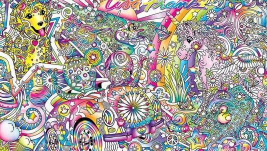 Groovy! Lisa Frank Announces Adult Coloring Books For Holidays