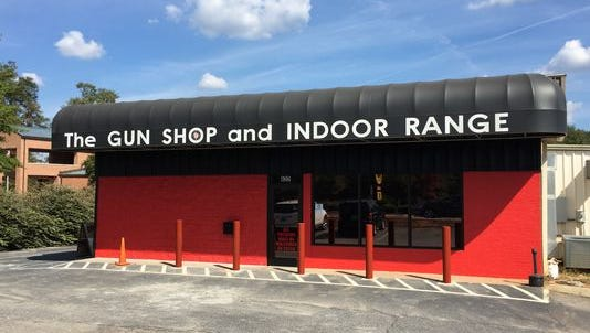 Bollards were installed at The Gun Shop in Simpsonville following a burglary in which a stolen minivan was intentionally crashed into the front door.