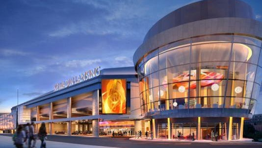 A proposed $245 million Kewadin Lansing Casino could create 1,500 permanent jobs in the city. The Sault St. Marie Tribe of the Chippewa Indians seeks federal approval for the project.