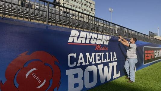 The Raycom Media Camellia Bowl returns to Montgomery in December.