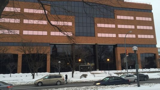 M&T Bank is eyeing plans to move its regional headquarters to the former home of Rochester Telephone Corp.