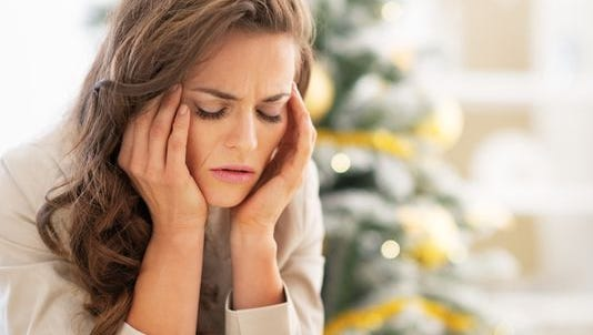 The holidays can be stressful for a number of reasons.