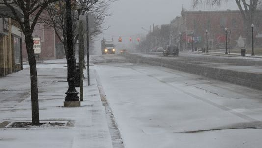Livingston County could see about 2 inches of snow accumulation, according to the National Weather Service.