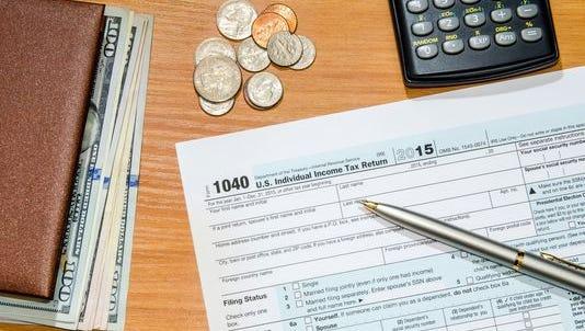 The IRS says that some income-tax returns will be delayed because of a new law that aims to deter fraud on certain credits.
