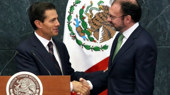 Mexican President names new foreign minister to deal