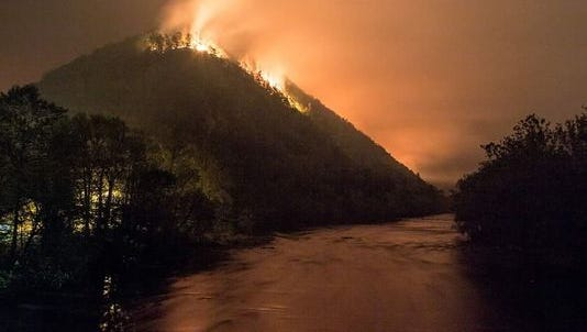 The Silver Mine Fire outside Hot Springs was the biggest recorded fire in Madison County, burning nearly 6,000 acres.