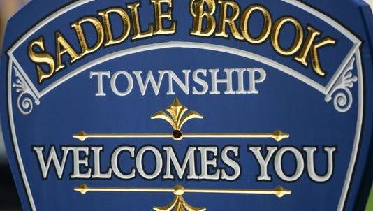 Saddle Brook sign.