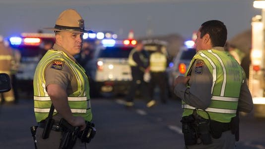 An armed California driver comes to the rescue of a DPS officer on a remote stretch of Interstate 10.